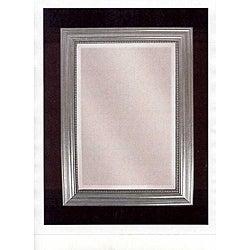 Uttermost Stuart Silver Wood Framed Mirror