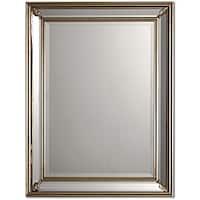 Uttermost Jansen Antique Silver Framed Mirror