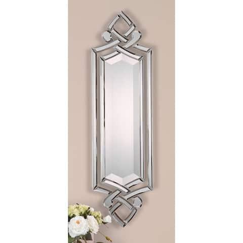 Uttermost Ginosa Hand-Beveled Frameless Mirror - 10x36x0.75