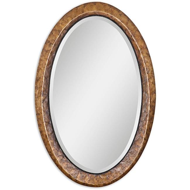 Uttermost Capiz Vanity Framed Mirror