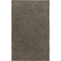 Hand-tufted Averlo Light Grey Area Rug (8' x 10')