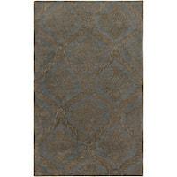 Hand-tufted Averlo Light Grey Area Rug (8' x 10') - 8' x 10'