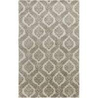 Hand-tufted Averlo Gray Rug (5' x 8') - 5' x 8'