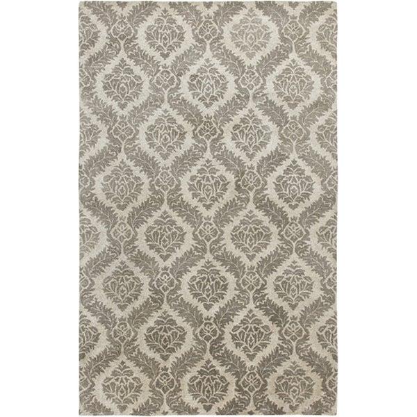 Hand-tufted Averlo Gray Rug (8' x 10') - 8' x 10'