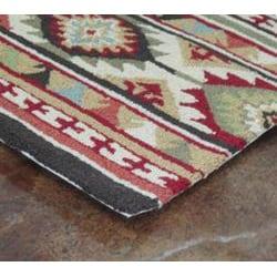 Hand-hooked Rancho Spice/ Multi Rug (2'3 x 3'9) - Thumbnail 2