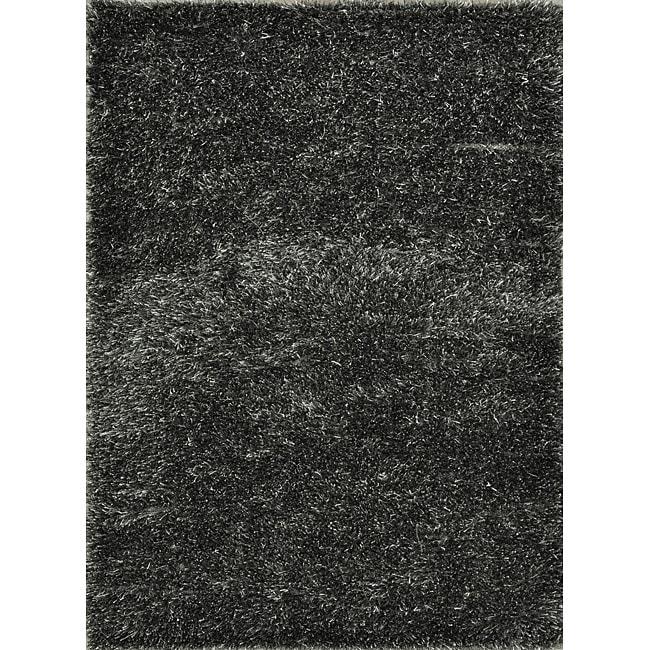 Seville Charcoal Shag Rug - 5' x 7'6