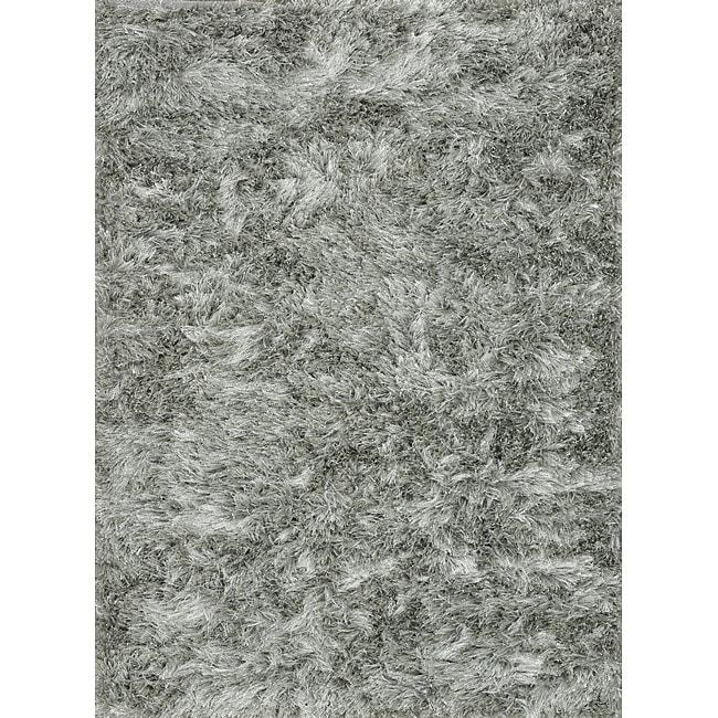Seville Silver Shag Rug
