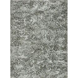 Seville Silver Shag Rug - Thumbnail 0