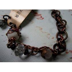 Amethyst and Quartz 'Forever' Vintage Bracelet - Thumbnail 1