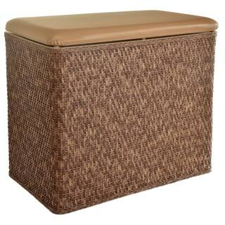 LaMont Home Carter Cappuccino Bench Hamper|https://ak1.ostkcdn.com/images/products/6479694/P14073150.jpg?impolicy=medium