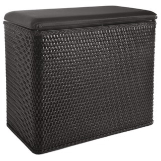 LaMont Home Carter Black Bench Hamper
