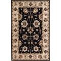 Hand-tufted Black Mayyou Wool Area Rug (9' x 12')