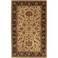 Hand-tufted Gold Crath Wool Area Rug (12' x 15')