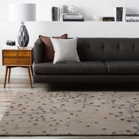 Hand-tufted 'Smash' Grey Wool Area Rug - 8' X 11'
