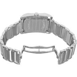 Baume & Mercier Men's M0A10020 'Hampton' Silver Dial Stainless Steel Watch