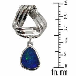 Pearlz Ocean Boulder Opal Pendant Necklace