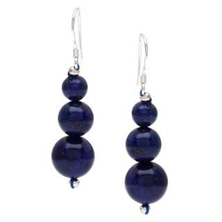 Pearlz Ocean Lapis Lazuli Journey Earrings