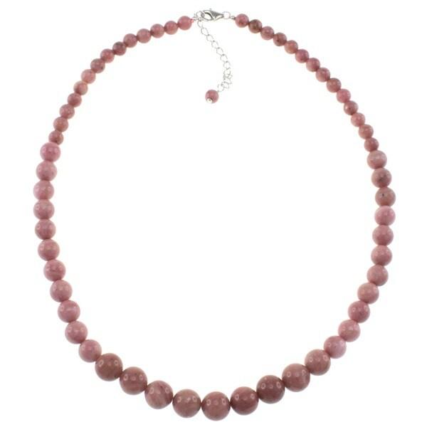 Pearlz Ocean Rhodonite Journey Necklace