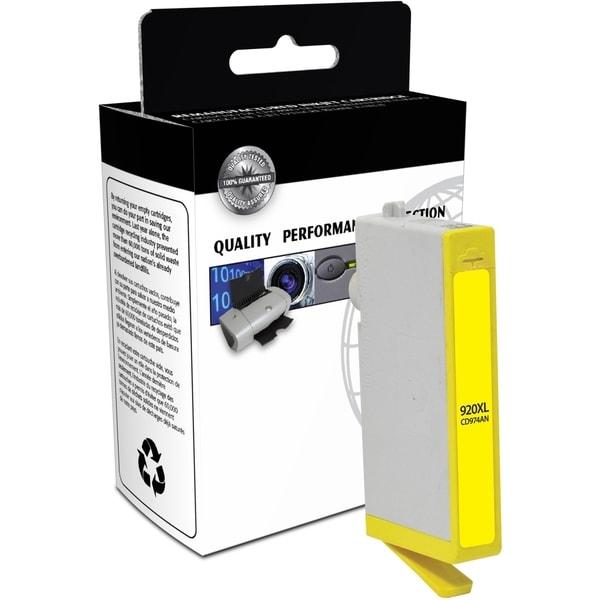 V7 Yellow High Yield Inkjet Cartridge for Officejet 6000, 6000 Wirele