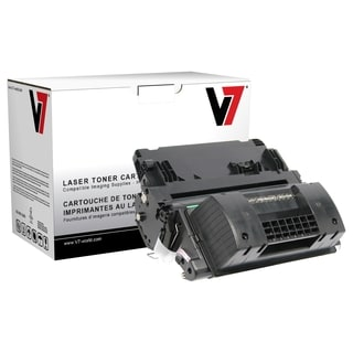V7 Black Ultra High Yield Toner Cartridge for HP LaserJet P4015DN, P4