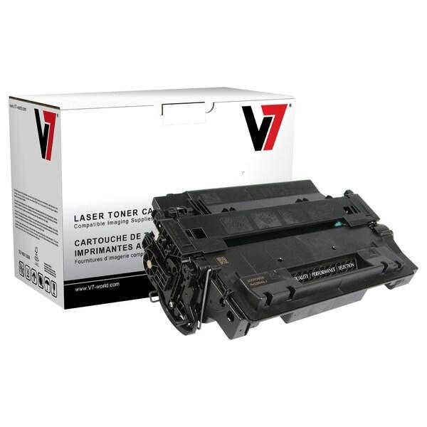V7 Black High Yield Toner Cartridge for HP LaserJet P3010, P3015, P30