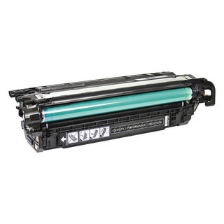V7 Black Toner Cartridge for HP Color LaserJet CP4025dn, CP4025n, CP4