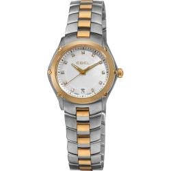 Ebel Women's 'Classic Sport' Mother of Pearl Dial Quartz Watch
