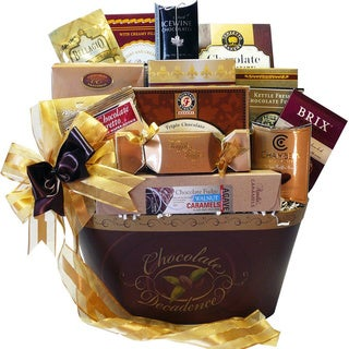 Chocolate Decadence Gourmet Food Gift Basket