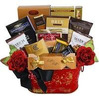 Decadent Chocolate Truffle Treats Gift Basket - decadent-chocolate-truffles