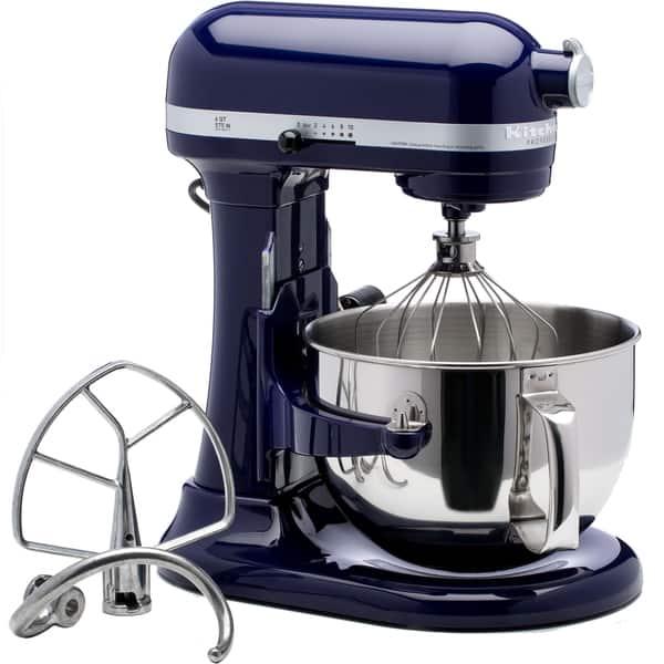 Shop KitchenAid RKP26M1XBU Cobalt Blue 6-quart Pro 600 Bowl ...