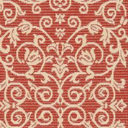 Safavieh Indoor Outdoor Red/ Natural