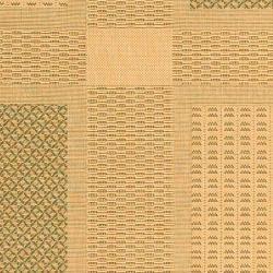 Safavieh Natural/ Olive Indoor Outdoor Rug (9' x 12')