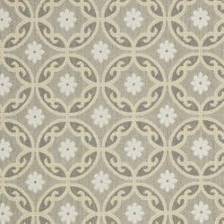 Safavieh Dark Grey/ Light Grey Indoor Outdoor Rug (5'3 x 7'7) - Thumbnail 2