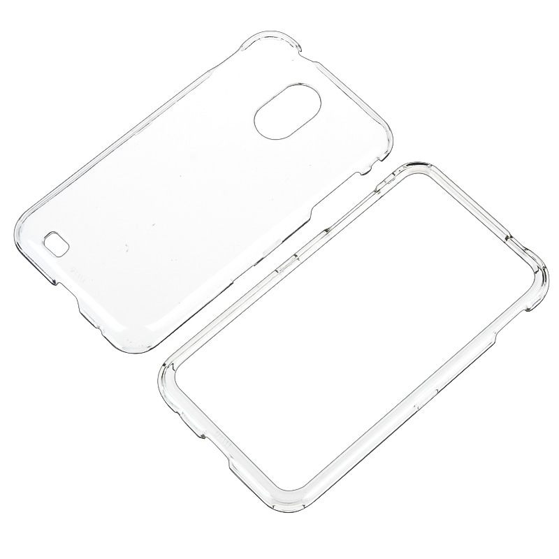 INSTEN Clear Crystal Snap-on Phone Case Cover for Samsung Epic 4G Touch SPH-D710