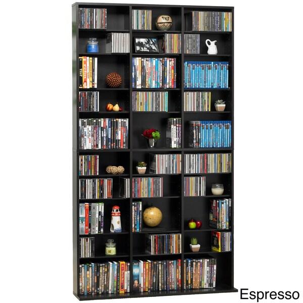 DarLiving Media Tower 1080 CD or 504 DVD Cabinet