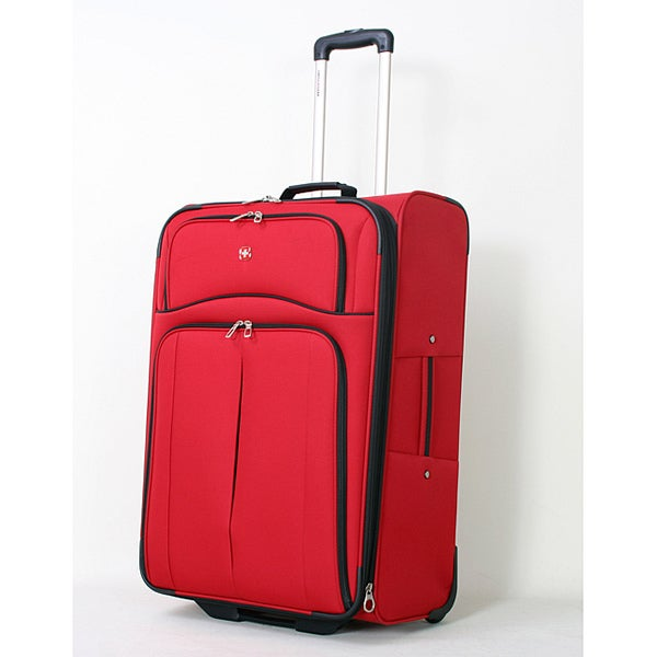 Wenger Swiss Gear Lightweight Red 21-inch Expandable Upright