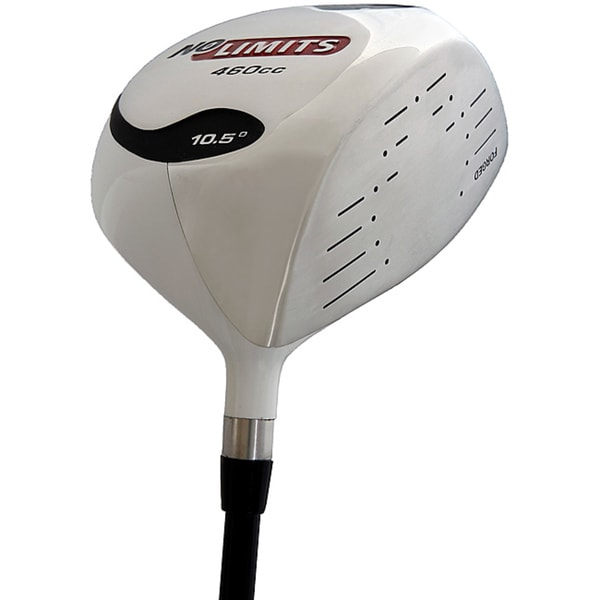 No Limits Men's White 460cc Right-hand Driver