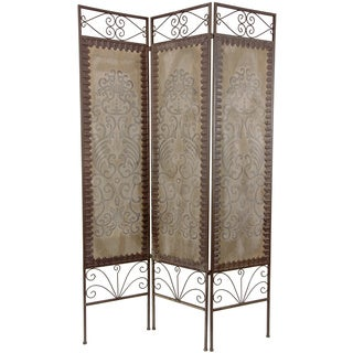 Handmade Wood Mediterranean Room Divider (China)