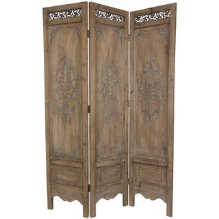 Handmade Wood Antique Design Room Divider (China)|https://ak1.ostkcdn.com/images/products/6483816/P14076449.jpg?impolicy=medium