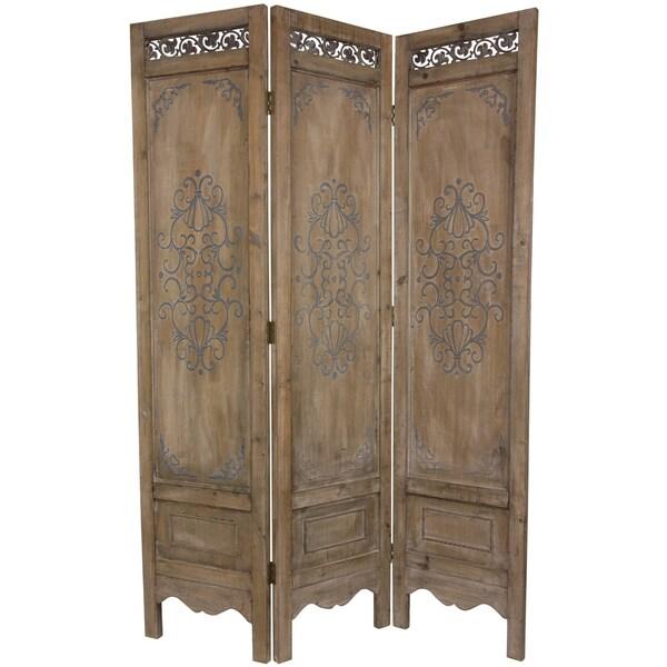 Handmade Wood Antique Design Room Divider (China)