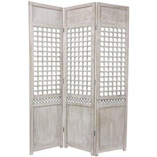 Shop Handmade Beadboard 70 inch Room Divider China Free Shipping