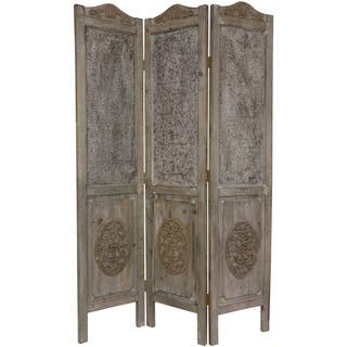 Handmade Closed Mesh  Foot Antique Design Room Divider China Reviews