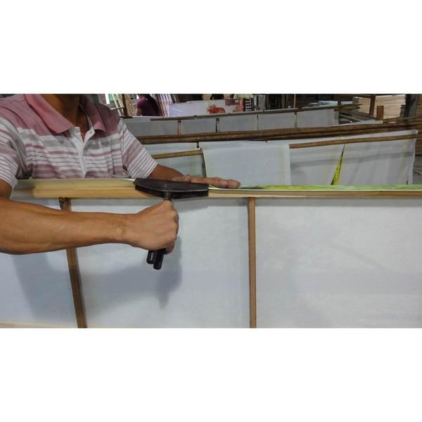 Handmade Rush Grass Knotwork Coffee Table/ Ottoman (China)   Free Shipping  Today   Overstock.com   14076451