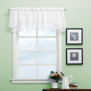 Ricardo Zurich Vine and Leaf Scalloped Valance (5 options available)