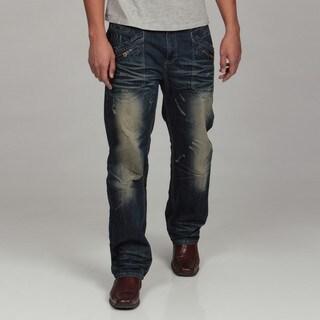 WT02 Men's Washed Denim Jeans