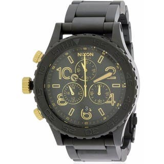 Nixon Men's '42-20' Stainless Steel Chronograph Watch|https://ak1.ostkcdn.com/images/products/6484166/P14076735.jpg?impolicy=medium