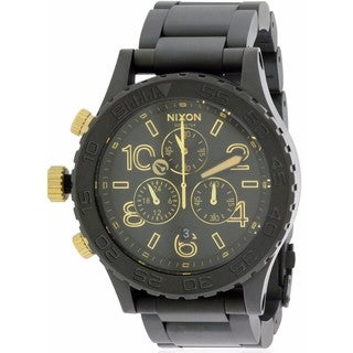 Nixon Men's '42-20' Stainless Steel Chronograph Watch
