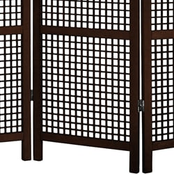Miyagi Open Lattice 4 Panel Room Divider China Thumbnail 2