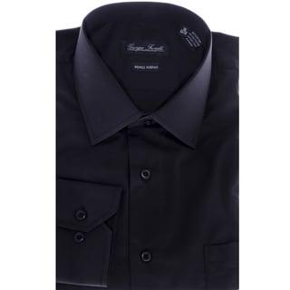 Men's Modern-Fit Dress Shirt, Black