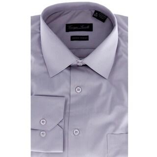 Men's Modern-Fit Dress Shirt, Grey